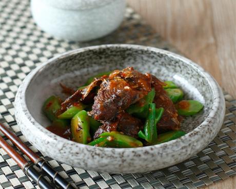拌饭酱鲮鱼炒芥菜