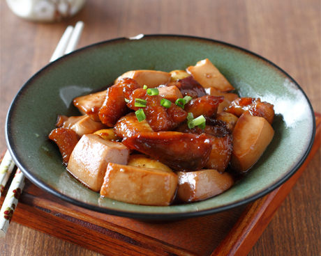 比目鱼炖北豆腐