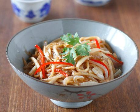 蚝油煸杏鲍菇