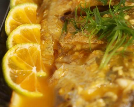 桔香酸甜鱼